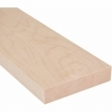 Solid Maple Square Edge Door Threshold 95mm Wide