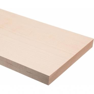 Solid Maple Square Edge Shelf 1 metre x 20mm