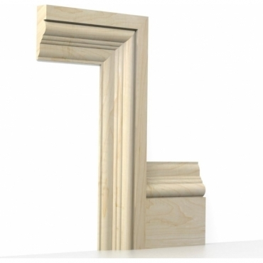 Solid Maple Tudor Architrave Sets