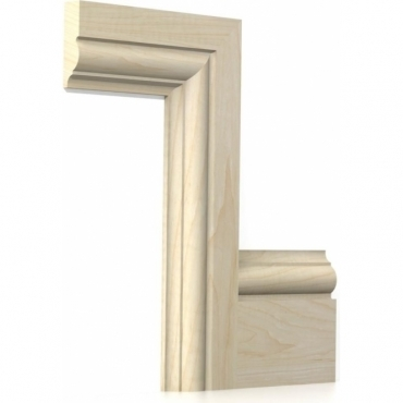 Solid Maple Winchester Architrave Sets