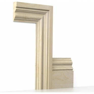Solid Maple Windsor Architrave Sets