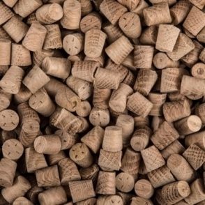 Solid Oak 10mm Tapered Pellet