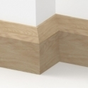 Solid Oak Bevel Skirting 3 metre