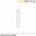 Solid Oak Bullnose Door Stopper Sets
