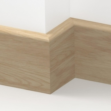 Solid Oak Bullnose Skirting 3 metre