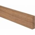 Solid Oak Bullnose Upstand 3 Metre