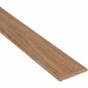 Solid Oak Flat Cover Beading Threshold Strip 34MM x 5MM