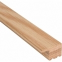 Solid Oak L Section Door Threshold 1.0m