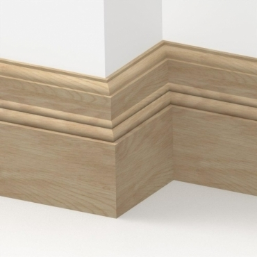 Solid Oak Orchard Skirting 3 metre