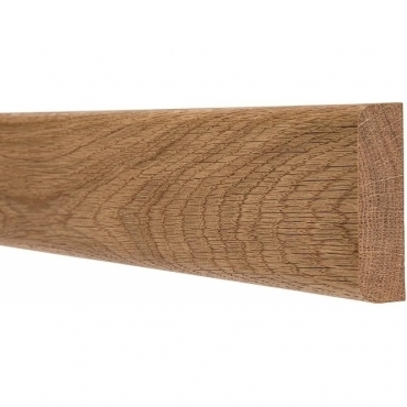 Solid Oak Pencil Round Dado Rail 3 Metre