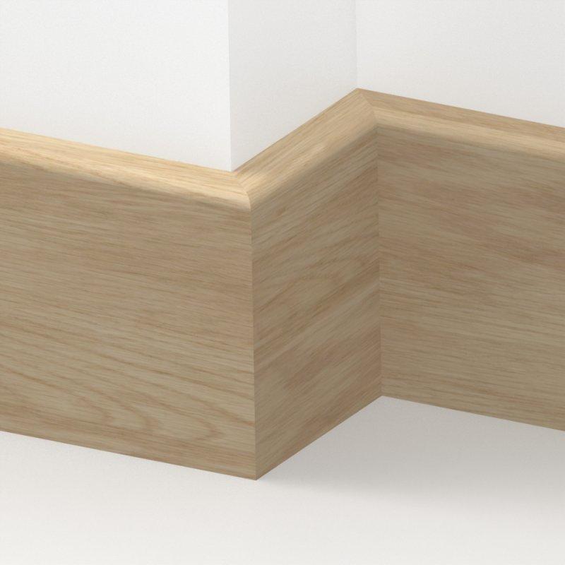 Oak Solid Pencil Round Skirting 3 Metre From Loveskirting