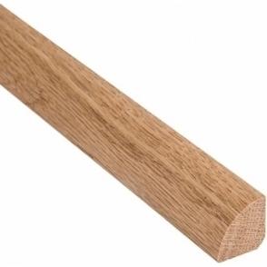 Solid Oak Quadrant Beading 15mm x 15mm