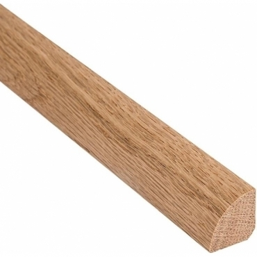 Solid Oak Quadrant Beading 9mm x 9mm