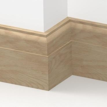 Solid Oak Regent Skirting 3 metre