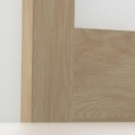 Solid Oak Square Edge Architrave Sets