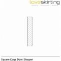 Solid Oak Square Edge Door Stopper Sets