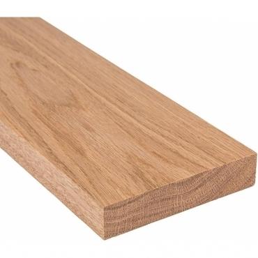 Solid Oak Square Edge Door Threshold 210mm Wide