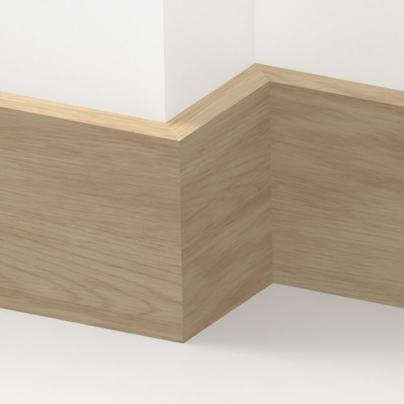 Solid Oak Square Edge Skirting 3 Metre By Loveskirting Co Uk