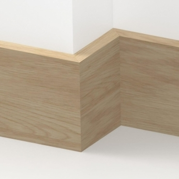 Solid Oak Square Edge Skirting 3 metre