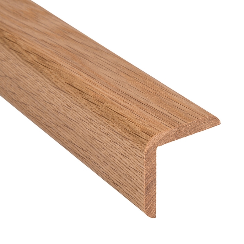 Solid Oak Stair Nosing 0 9 Metre From Loveskirting Co Uk