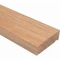Solid Oak Timber External Door Frame Sill 131mm