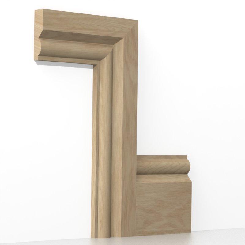 Solid Oak Torus Architrave Sets  sc 1 st  Loveskirting & Solid Oak Torus Architrave Sets from LoveSkirting.co.uk
