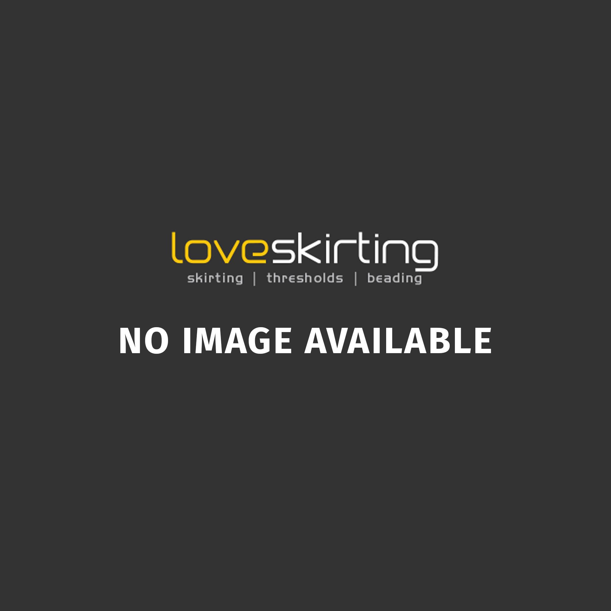 Solid Oak White Primed T Bar Threshold 2.4 Metre (45mm wide)