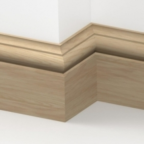 Solid Oak Winchester Skirting 3 metre