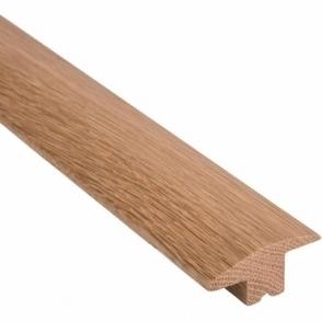 Solid Oak Wood to Carpet Threshold 2.4 Metre