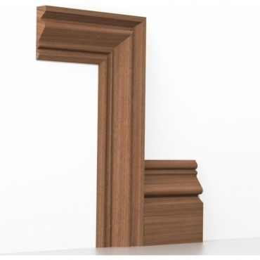 Solid Sapele Buckingham Architrave Sets