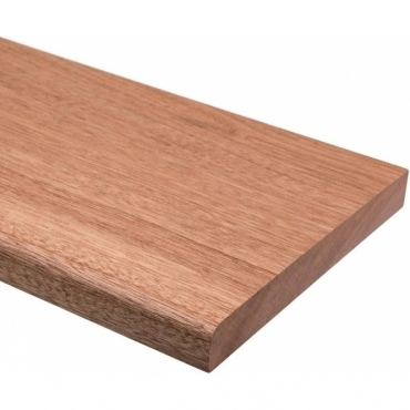 Solid Sapele Bullnose Window Board 1 metre x 20mm