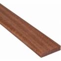 Solid Sapele Flat Edge Cover Beading Threshold Strip 20MM x 5MM
