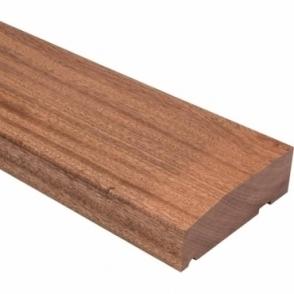 Solid Sapele Hardwood Timber External Door Frame Sill 145mm