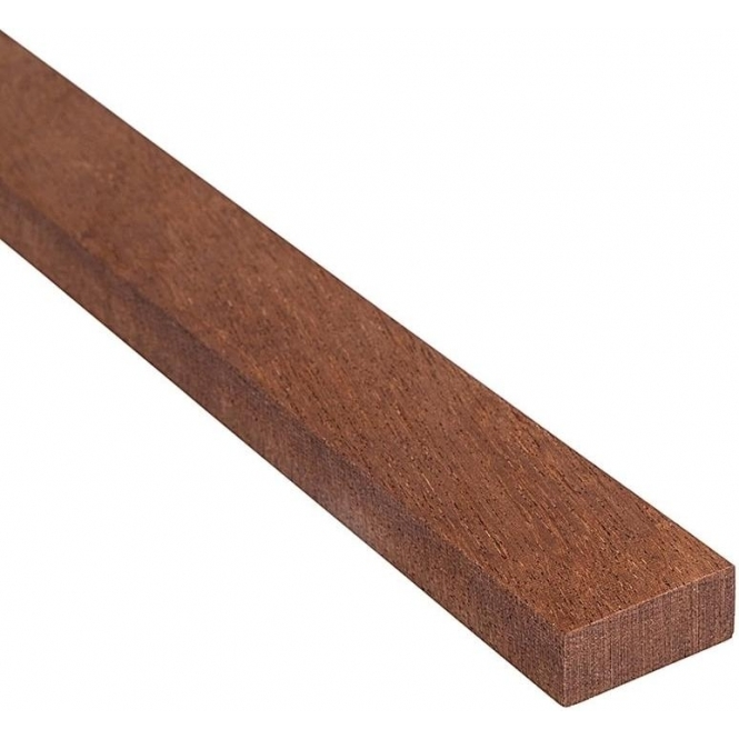 Solid Sapele Rectangle Beading 35mm x 12mm