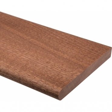 Solid Sapele Rounded Window Board 1 metre x 20mm