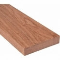Solid Sapele Square Edge Door Threshold 210mm Wide