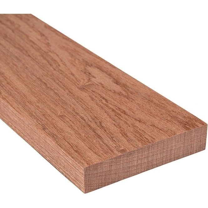Solid Sapele Square Edge Door Threshold 220mm Wide