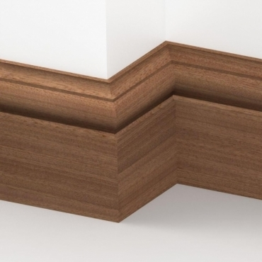 Solid Sapele Winchester Skirting 3 metre