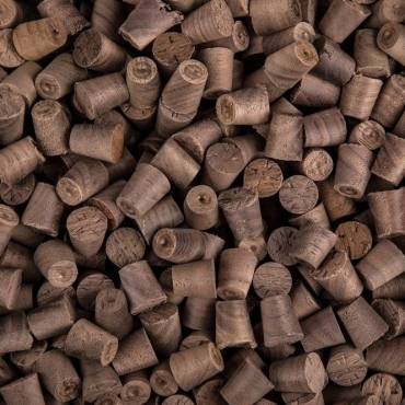 Solid Walnut 12mm Tapered Pellets