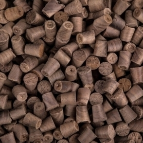 Solid Walnut 8mm Tapered Pellets
