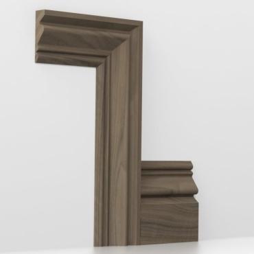 Solid Walnut Buckingham Architrave Sets