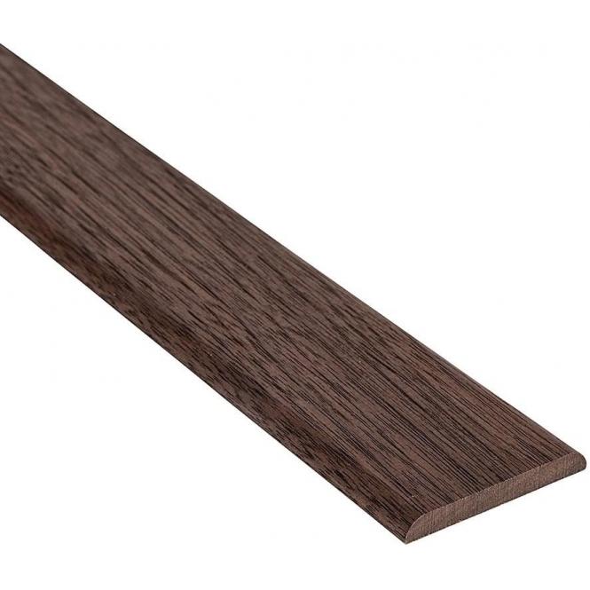 Solid Walnut Flat Cover Beading Threshold Strip 70MM x 7MM