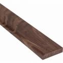 Solid Walnut Flat Edge Cover Beading Threshold Strip 50MM x 8MM