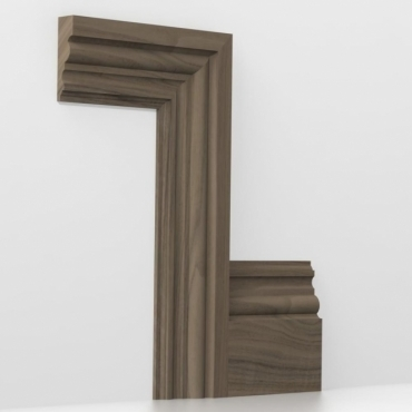 Solid Walnut Heritage Architrave Sets