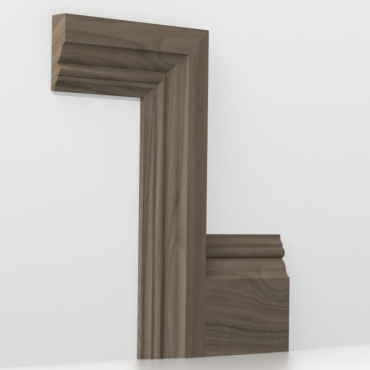 Solid Walnut Knightsbridge Architrave Sets