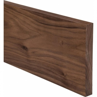 Solid Walnut Plinth 3 Metre