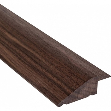 Solid Walnut Ramp Section Threshold 0.9 Metre