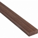 Solid Walnut Rectangle Beading 18mm x 15mm