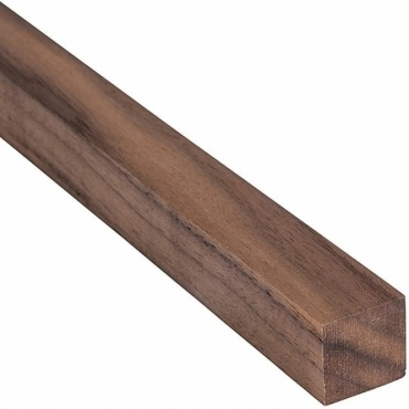 Solid Walnut Square Beading 18mm x 18mm