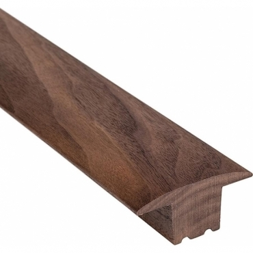 Solid Walnut T Bar Threshold 1.6 Metre